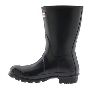 Hunter Rain Boot Original Gloss Short